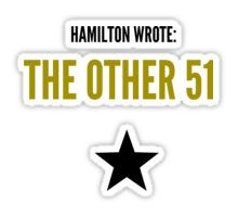 THE OTHER 51 Sticker