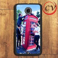 1d Telephone Box One Direction Nexus 5,Nexus 6,Nexus 7 Case