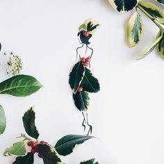 Moda İkonu Sassy du Fleur'un Çiçeklerden Oluşan Gardrobu