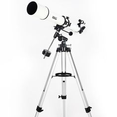 New BOSMA Skyhawk 80/900 Equatorial Refractive Astronomical Telescope W/ Tripod