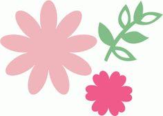 Silhouette Design Store - View Design #75321: flowers & vine