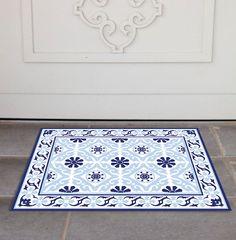 PVC Door Mat, Welcome Mat, Tile rug , Dog Rug, Pets mat, Comfort mat, Housewarming , 213