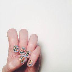 Rifle Paper Co nail art | by Anna Bond