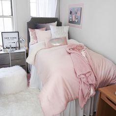 Teen girl bedrooms, grab these brilliant decorating pin number 1025425199 for one rad design. College Bedding Sets, Dorm Bedding Sets, Pink Comforter, Toddler Girl Bedding Sets, Cheap Bedding Sets, Luxury Bedding Sets, Affordable Bedding, Girls Bedroom, Bedroom Ideas