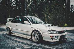 GC8 goodness @gnarly.gm6    #subie001 2016 Subaru Sti, Jdm Subaru, Impreza Rs, Subaru Impreza Sti, Ac Cobra, Car Goals, Import Cars, Cool Cars, Nissan