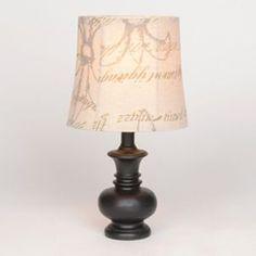 Amazon.com: Tadpoles Table Lamp Chandelier in White Diamond: Lamps ...