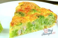 Herzhafte FITNESS Brokkoli-Torte ohne Mehl A healthy hearty cake without flour. Broccoli and cauliflower are the basis of this recipe. Low Carb Quiche, Low Carb Pizza, Healthy Vegetable Recipes, Healthy Vegetables, Clean Recipes, Raw Food Recipes, Fodmap Recipes, Food Menu, Food And Drink