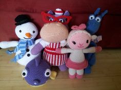 Doc McStuffins 5 patterns bundle with Chilly by CookieCrumbCrochet, $23.00