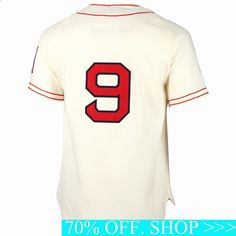 Ted Williams Boston Red Sox MLB Authentic Jersey Cream – Daily Sports News & Live Stream Fotball Channel Life Insurance Companies, Best Insurance, Mens Digital Watches, Football Gear, Boston Red Sox, Sports News, Mlb, Shopping, Tops