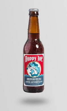 Hoppy Joe - The Dieline -