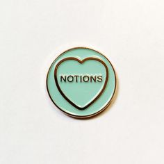 Pure notions! Show the world just how full of notions you really are, and wear this enamel pin by Fintan Wall with pride. Also makes a great gift for someone you think needs to reel in their notions. For Ciara in HR who never shuts up about the Seychelles, or Auntie Bridie who only drinks champagne (because prosecco is Prosecco, Shut Up, Thinking Of You, Great Gifts, Things To Come, Pure Products, Stocking Fillers, Cards, How To Make