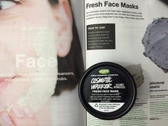 Hi Guys, Today I am reviewing another face mask from Lush. It is the Cosmetic Warrior Fresh Face Mask. Product Description Soothing and deep cleansing blen