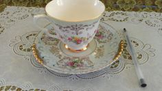 Beautiful Queen Anne bone china from England by NostalgicGlass, $7.99