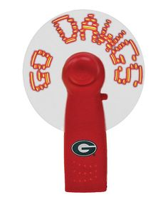 Take a look at this Georgia Light-Up Compact Fan by Champion Treasures on #zulily today!
