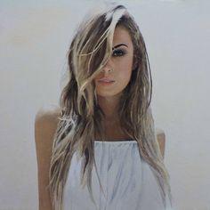Valerie, óleo sobre tela, 2016