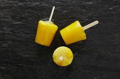 Mango-Pineapple Pops