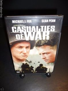 Casualties of War (DVD, 2001)  Michael J. Fox, Sean Penn   New Sealed