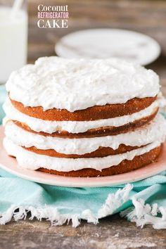 Easy Coconut Refrigerator Cake is moist and delicious, with the perfect amount of sweet, creamy filling. ***HEY, GUYS!! HEY!! This recipe and post was originally published in 2010, about 3 months into my blog. Although the photos were always a hot mess and the writing was definitely NOT my best work, this has HANDS DOWN stayed my MOST POPULAR recipe EVER. I am actually not surprised — I make this cake several times a year and get requests for it from friends and family members often. It's…
