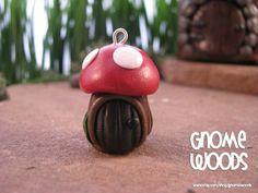 OOAK+Made+to+Order+Tree+Stump+Mushroom+House+by+GnomeWoods+on+Etsy,+$10.00