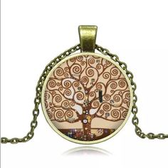 Cute Bronze Tree Of Life Necklace Brand New Jewelry Necklaces