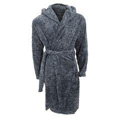 NEW Mens Pierre Roche Robe Dressing Gown Gift Nightwear Lounge Winter Cosy