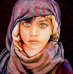 Samuel Silva only uses 8 different colored ballpoint pens to creative these incredible drawings or ballpoint pen art. How he can make them look so realistic Samuel Silva, Stylo Art, Images Noêl Vintages, Ballpoint Pen Drawing, Watercolor Artists, Watercolor Face, Watercolor Trees, Watercolor Portraits, Watercolor Landscape