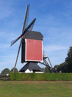 Monumental windmill in Someren