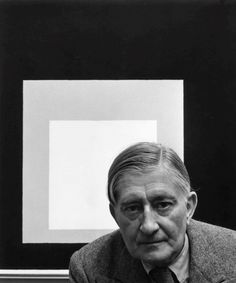 "Joseph Albers, New York, NY, 1948 by Arnold Newman. ""I prefer to see with closed eyes."""