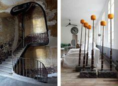 Vosgesparis: Simple + serene + Paris part 2 More of the Parisian loft of Paola Navone