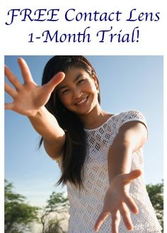FREE Contact Lens 1-Month Trial!