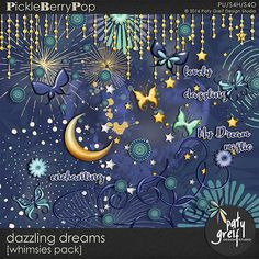 """Dazzling Dreams """"Whimsies"""" by Paty Greif"""