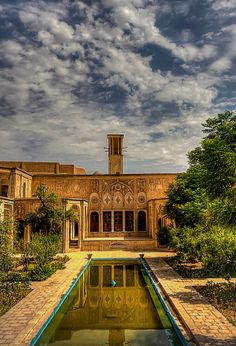 """Iran The Wind Catcher or """"Baad Gir"""" is a traditional Persian architectural element to create natural ventilation in buildings"""