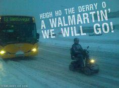 Rascal Snow People of Walmart Funny Pictures Random Pics Dump Stupid Humor Memes Weird Strange WTF LOL Goofy