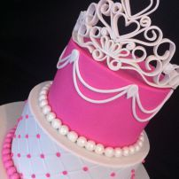 Tiara 21st Cake