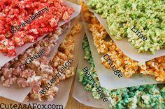 Jello Popcorn, Popcorn Snacks, Candy Popcorn, Flavored Popcorn, Gourmet Popcorn, Candy Apples, Snack Recipes, Cooking Recipes, Candy Recipes