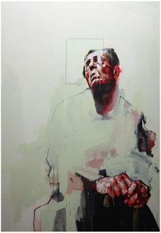 """Saatchi Online Artist: Benjamin Cohen; Oil, Painting """"'Study of a Figure' """":"""