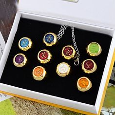 Onecos Naruto Akatsuki Ring Cosplay (A Set of 10) New -- Continue to the product at the image link.