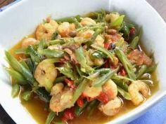 Nikmati rasa gurih dan enak dari masakan sayur tumis buncis udang disini.