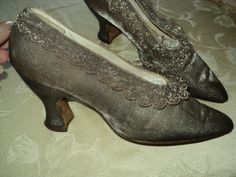 Hey, I found this really awesome Etsy listing at http://www.etsy.com/listing/81461653/1920s-antique-metallic-silver-lame-lace