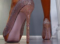 Would love to be able to wear these...  but for me, more like a weapon than a shoe!!
