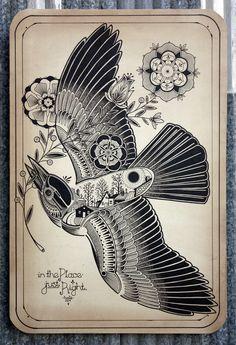 David Hale is an Illustrator, Artist, Tattooist, and a Humble Servant of Creation. David Hale Tattoo, Deer Tattoo, Raven Tattoo, Tattoo Ink, Japanese Sleeve Tattoos, Full Sleeve Tattoos, Body Art Tattoos, Hand Tattoos, Fox Tattoos