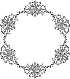 Free Vintage Borders and Adult Coloring Pages, Coloring Books, Doodle Frames, Foto Transfer, Vintage Borders, Free Clipart Images, Borders And Frames, Borders Free, Tampons