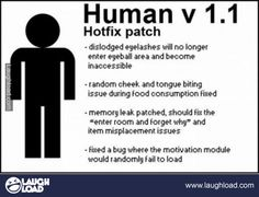 Hotfix...why can't this be real?  HA!!!