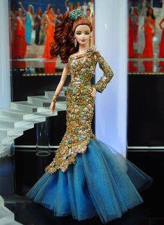 Miss Turkey 2013/2014 - International Pageant Collection - NiniMomo Doll