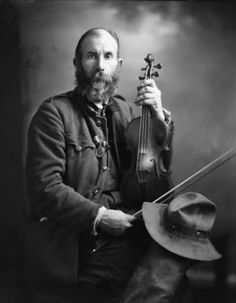 Fiddle contest winner, 1926. :: Caufield & Shook Collection