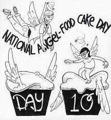 Oct 10th National Angel Food Cake Day