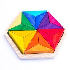 Estrella con 18 piezas