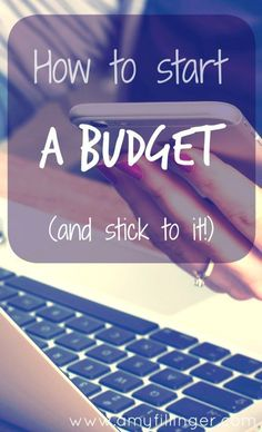How to start a budget. One of the top new years resolutions is doing better with money. The #1 thing you can do to achieve this is starting (and sticking to) a budget!