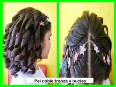 Doble trenza y bucles