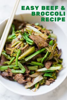 Delicious and Easy Beef and Broccoli